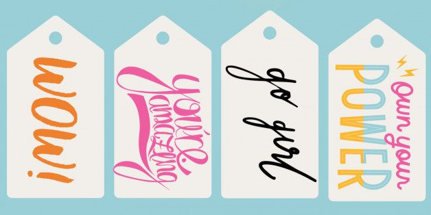 Powerful Girl Gift Tags